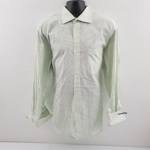 Hickey Freeman dress shirt 16.5 35 L80